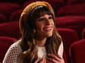 "The Glee actress says she is ""excited"" to appear on her ""favorite show""."