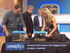 Jeremy Kyle cured of his creepy crawly phobia