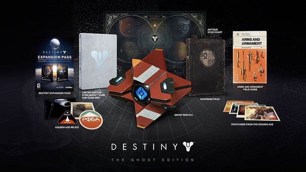 Destiny Ghost Edition contents