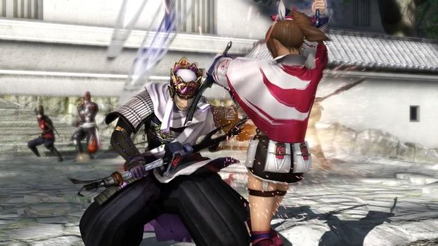 Screenshot from Samurai Warriors 4