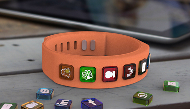 The Hicon social networking bangle