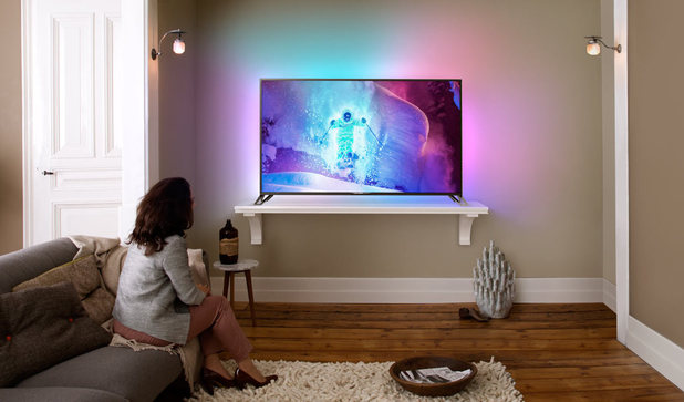 The Philips 9800 UHD television