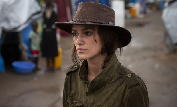 Kiera Knightley visits Bor Camp in South Sudan with Oxfam GB