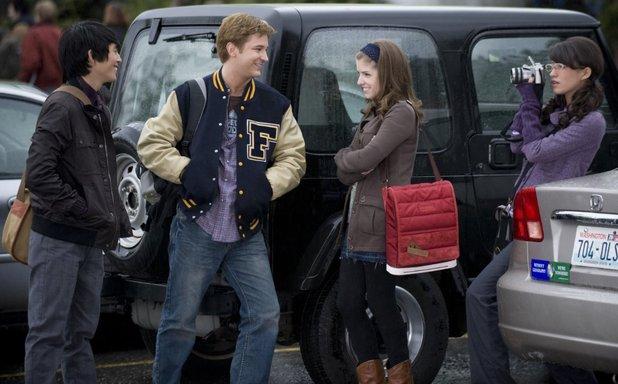 Anna Kendrick, Michael Welch, Christian Serratos and Justin Chon in The Twilight Saga: New Moon (2009)