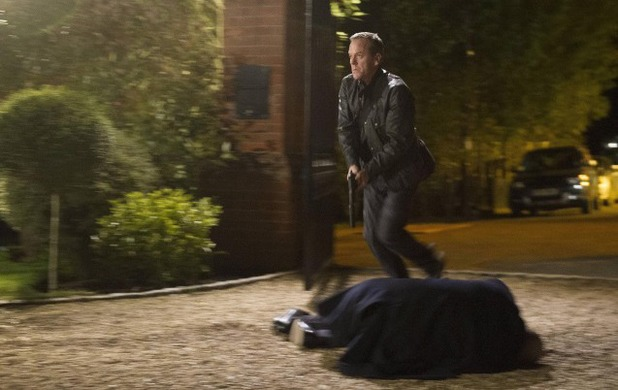 Kiefer Sutherland as Jack Bauer in 24: Live Another day episode 11 - '9:00 - 10:00PM'