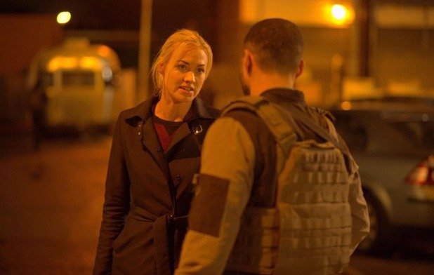 Yvonne Strahovski as Kate in 24: Live Another day episode 11 - '9:00 - 10:00PM'