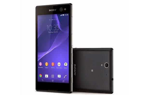 Sony's Xperia C3 selfies phone