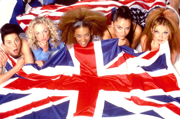 The Spice Girls in 1997.