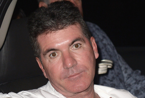 Caption:MIAMI BEACH, FL - MARCH 01: Simon Cowell is sighted at Prime 112 Steakhouse on March 1, 2014 in Miami Beach, Florida. (Photo by Olivia Salazar/GC Images)