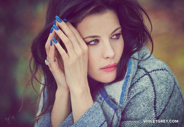 Liv Tyler photoshoot for VIOLET GREY's online magazine