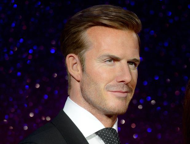New wax figures of David and Victoria Beckham revealed, Madame Tussauds, London, Britain - 19 Jun 2014 David Beckham and Victoria Beckham wax figures