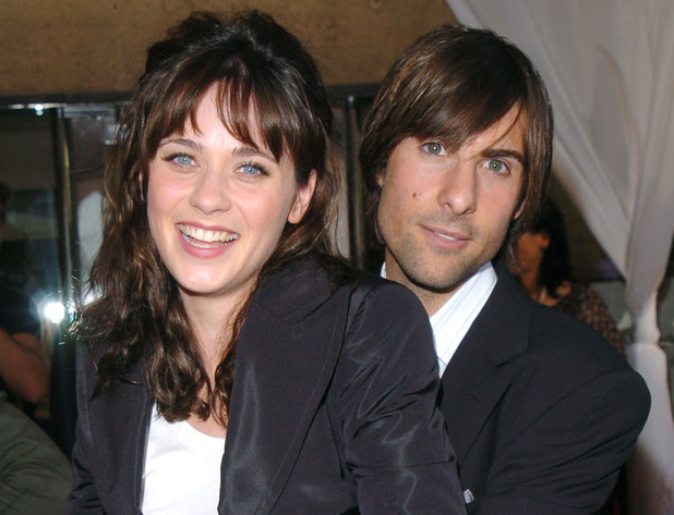 Zooey Deschanel and Jason Schwartzman during 2004 Toronto International Film Festival - Fox Searchlight Party Hosted by Gucci in Toronto, Ontario, Canada. (Photo by George Pimentel/WireImage)