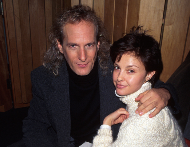 Singer Michael Bolton and actress Ashley Judd. (Photo by Dave Allocca/DMI/Time Life Pictures/Getty Images)