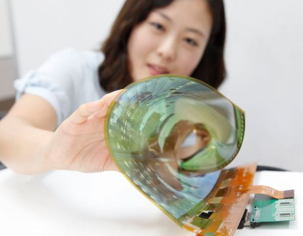 LG's rollable OLED display