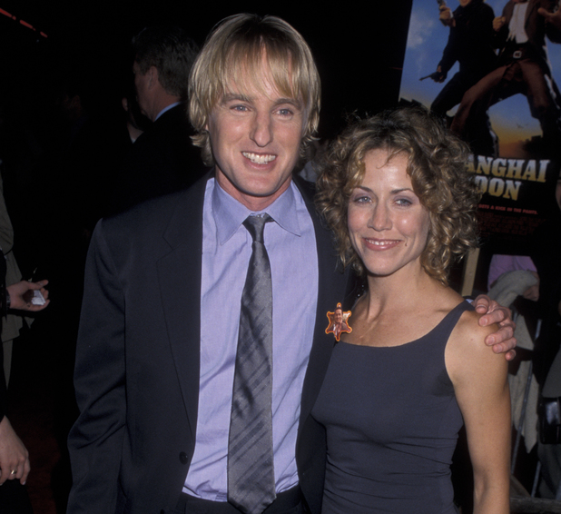 HOLLYWOOD, CA - MAY 23: Owen Wilson and Sheryl Crow attend the world premiere of 'Shanghai Noon' on May 23, 2000 at Mann Chinese Theater in Hollywood, California. (Photo by Ron Galella, Ltd./WireImage)