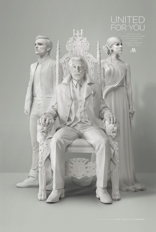 The Hunger Games: Mockingjay - Part 1 President Snow portrait