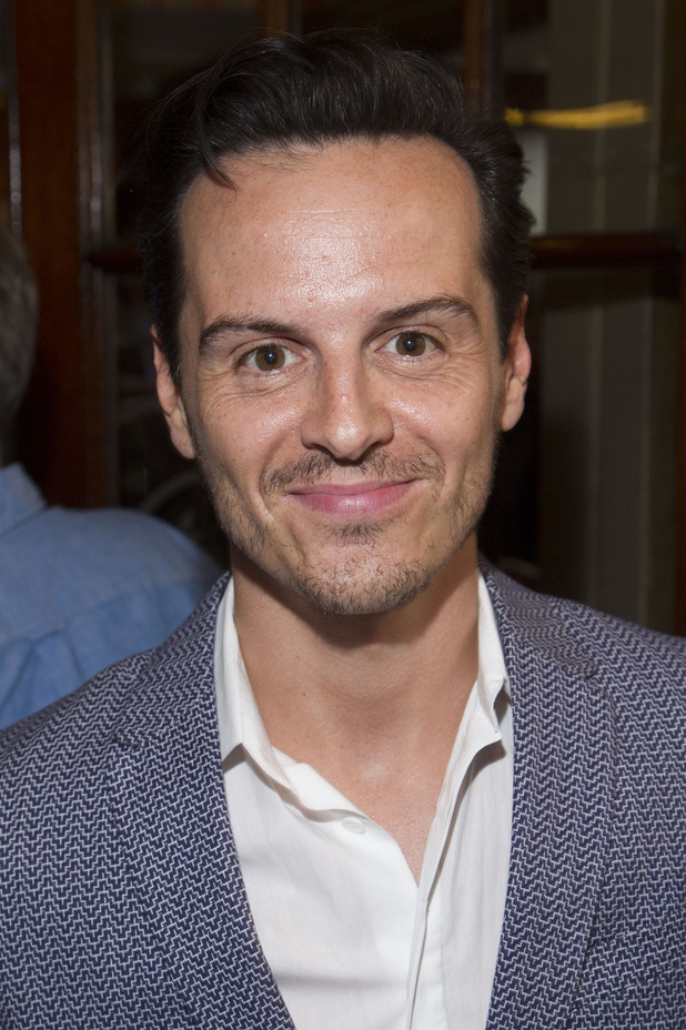 Andrew Scott at the opening night of The Curious Incident of the Dog in the Night-Time