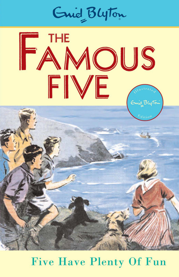 Enid Blyton: The Famous Five book cover