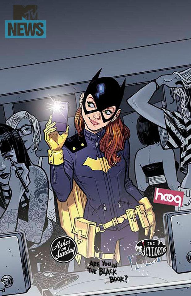 Batgirl #35 costume redesign