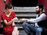 Keira Knightley and Adam Levine in Begin Again (2013)