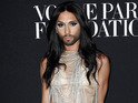 PARIS, FRANCE - JULY 09: Conchita Wurst attends the Vogue Foundation Gala as part of Paris Fashion Week at Palais Galliera on July 9, 2014 in Paris, France. (Photo by Julien M. Hekimian/French Select/Getty Images)