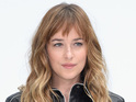 PARIS, FRANCE - JULY 08: Dakota Johnson attends the Chanel show as part of Paris Fashion Week - Haute Couture Fall/Winter 2014-2015 at Grand Palais on July 8, 2014 in Paris, France. (Photo by Pascal Le Segretain/Getty Images)