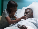 Patrick Trueman is rushed to hospital in next week's episodes.