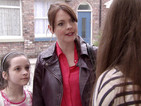 Coronation Street: Tracy gets angry with Maddie - spoiler pictures