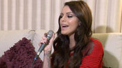 Cher Lloyd performs an acoustic version of her single 'I Wish'.