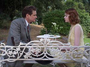 Colin Firth, Emma Stone in Magic in the Moonlight