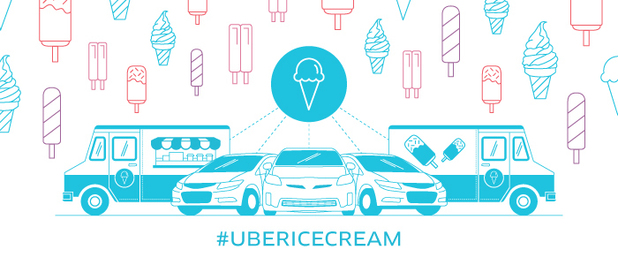 Uber ice cream orders open tomorrow