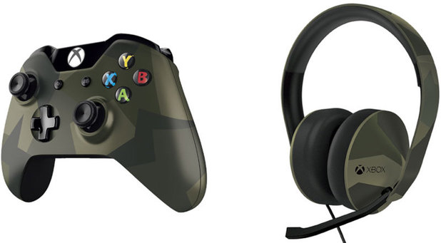 Xbox One Armed Forces controller and headset