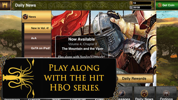 Game of Thrones Ascent iPhone screenshot