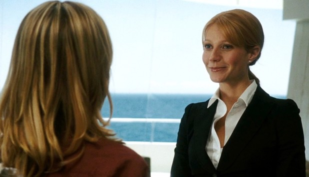 Pepper Potts in Iron Man (2008)