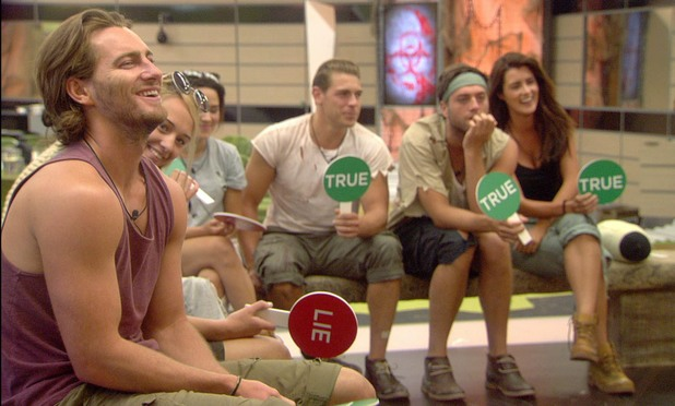 Some of the housemates on Big Brother