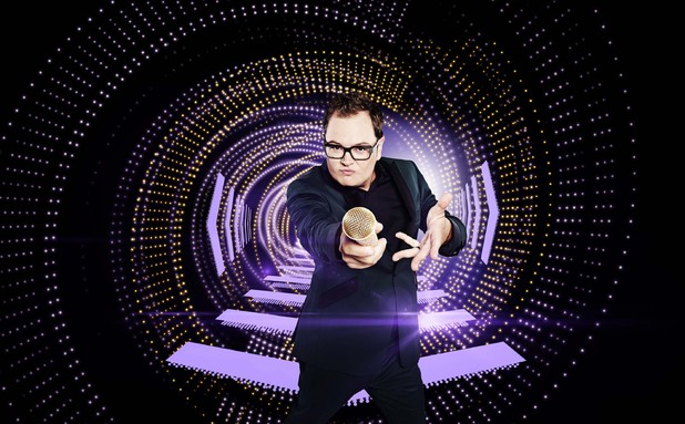 Alan Carr hosts The Singer Takes It All