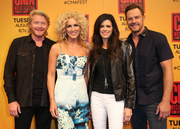 Phillip Sweet, Kimberly Schlapman, Karen Fairchild and Jimi Westbrook of Little Big Town attend the 2014 CMA Festival