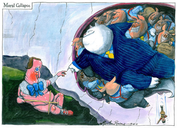 Martin Rowson's strip