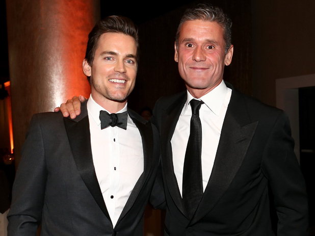 BEVERLY HILLS, CA - JUNE 19: Actor Matt Bomer (L) and Simon Halls attend the 4th Annual Critics' Choice Television Awards at The Beverly Hilton Hotel on June 19, 2014 in Beverly Hills, California. (Photo by Christopher Polk/Getty Images for Critics' Choice Television Awards)