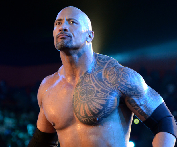 The Rock at Wrestlemania XXVIII
