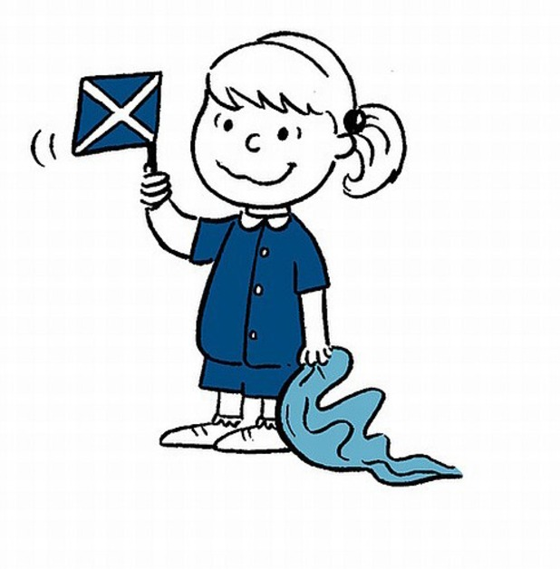 Scottish Referendum illustration from Gill Hatcher