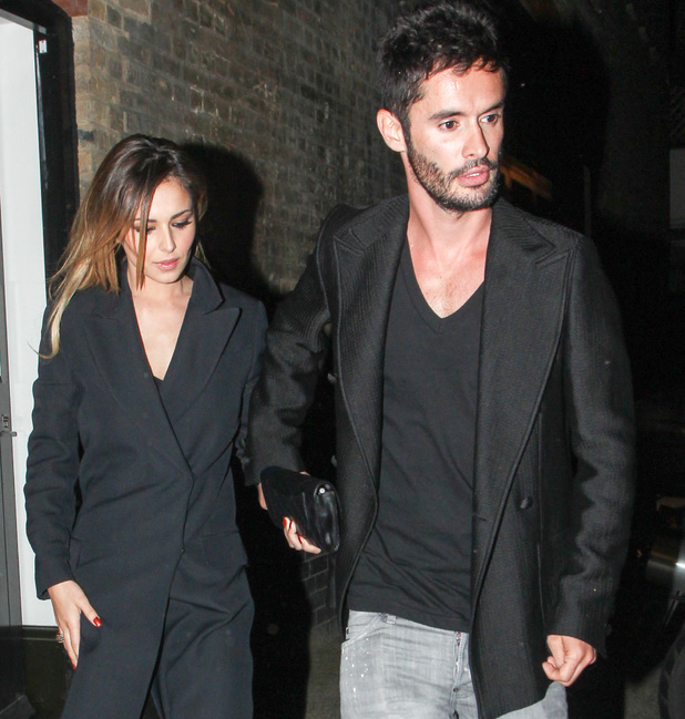 Cheryl Cole and Jean-Bernard Fernandez-Versini