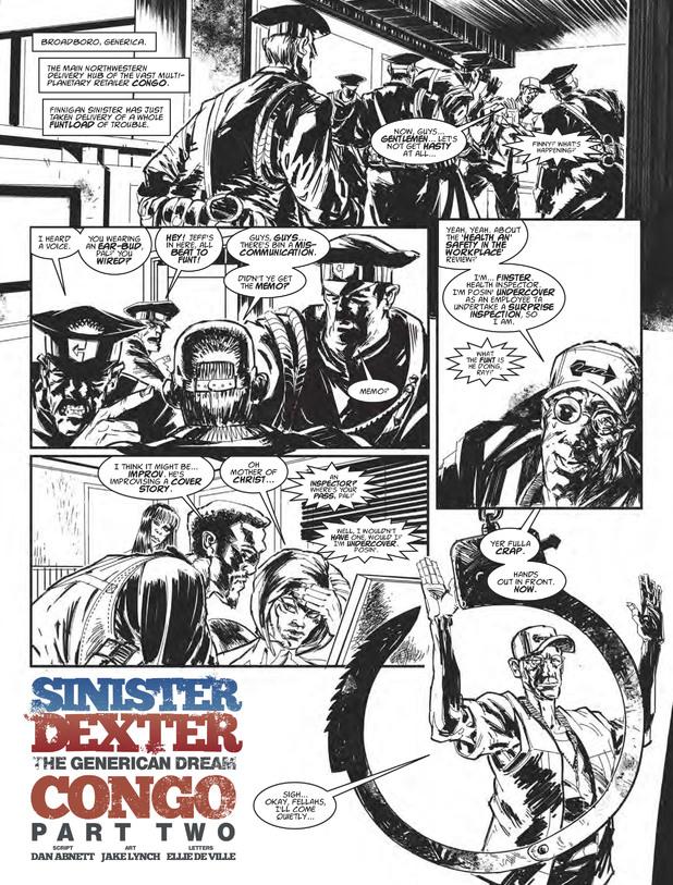 Sinister Dexter - Congo