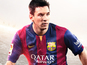 Messi is the top-rated player in FIFA 15