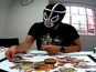 Autographer cameras show Marvel artist at work