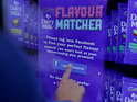 Vending machine will assess user's likes and dislikes by monitoring Facebook.