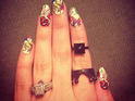 After Cheryl Cole, guess more stars sharing selfies of their engagement rings.