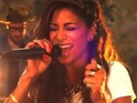 Nicole Scherzinger performs her new single 'Your Love' live and acoustic.