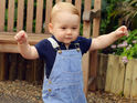 A new photograph is released in honor of Prince George's upcoming birthday.