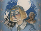 Cullen Bunn writing Dark Horse's Harrow County, Dynamite's Masks II